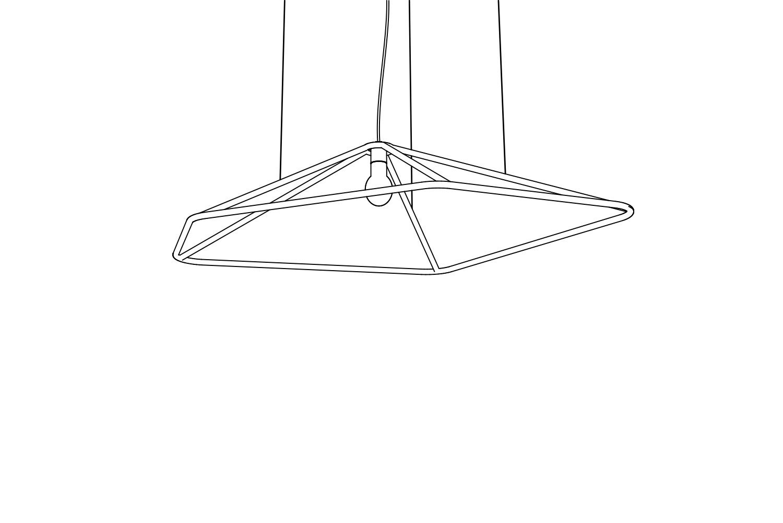 Codolagni Nubo Lamp Nude Small Line P