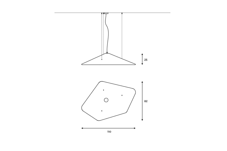 Codolagni Nubo Lamp Small Line
