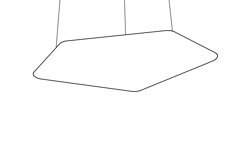 Codolagni Nubo ceiling panel Line P
